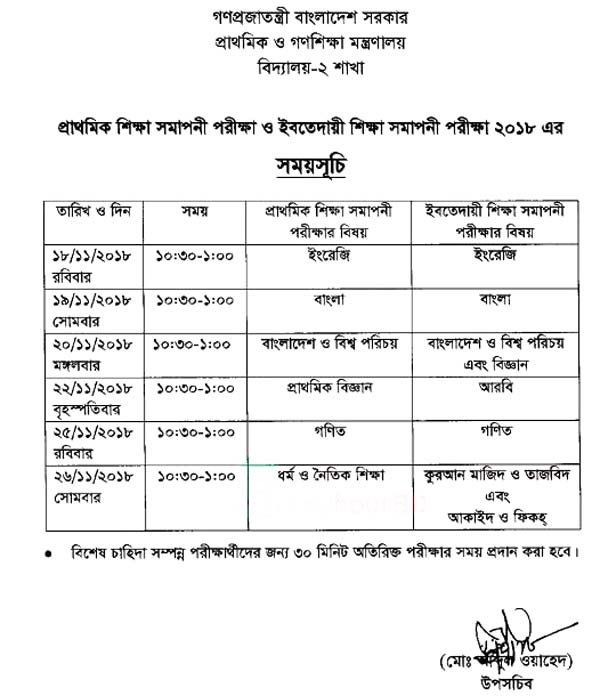 PSC Routine 2018